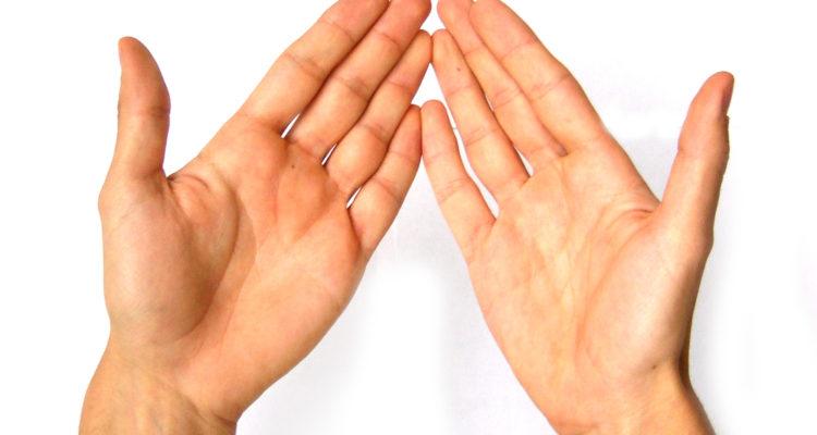 linke und rechte Hand